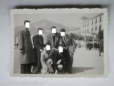 Vecchia fotografia Salerno epoca fascista Lungomare 1941 Piazza Costanzo Ciano