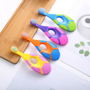 Baby Infant Kid Soft Silicone Toothbrush Gum Massage Brush Clean Teeth 0-3yearGR