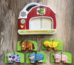 Leap Frog Fridge Farm Magnetic Animal Set - TESTED & COMPLETE - SEE ALL PHOTOS!!