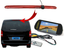 Mercedes Benz Vito Van Brake Light Reversing Reverse Camera and Mirror Monitor