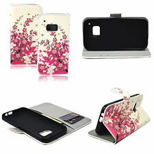 Pocket PU Leather With Card Slot Wallet Case Cover Stand For HTC ONE M9
