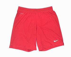 Nike Vaporknit Lightweight Soccer Training Short Men's Medium Red AQ2689