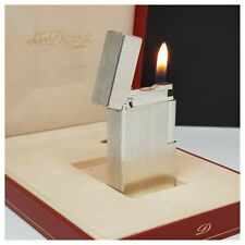 Briquet gaz * St Dupont Paris + box & doc * silver.p-Lighter-Feuerzeug-Accendino