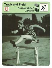 1979 Brooke Bond Olympic Greats #36 Rosi Mittermaier Card Sports Trading Cards Olympics Cards