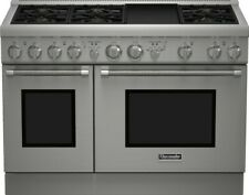 """New listing Prg486Gdh-Thermador 48"""" Pro Harmony Gas Range 6 Brn Griddle"""