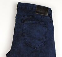 Lee Hommes Luke Slim Jambe Droite Jeans Extensible Taille W34 L34 ARZ881
