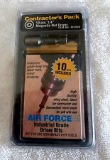 "Air Force Brand 1/4 ""  Nut Drivers Package of 10 Magnetic Drivers"
