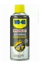 WD-40 Specialist Motorcycle Motorbike Universal O, X & Z Chain Wax - 200ml
