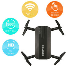 Foldable Drone Quadcopter Aircraft w/ HD Camera Remote Control WIFI FPV G-Sensor