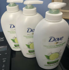 3Pack Dove Cucumber & Green Scent Tea Caring Hand Wash Liquid Soap 8.45Oz 250ml