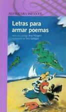 Letras para armar poemas Spanish Edition