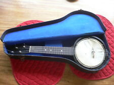 More details for jetel 5 banjolin 4 string with case with extra packet of strings