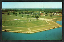 Posted 1969 Aerial View of Crysler Memorial, Upper Canada Village, Ontario