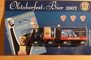 Model Like Beer Truck Unimog Paulaner Oktoberfest 2003 Hs 6