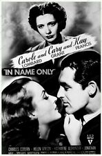 8x10 Print Cary Grant Carole Lombard InNameOnly 1938 #5400857