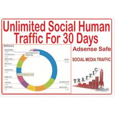 GET 30 giorni di traffico umano dai social & Organico il traffico Web da ricerca principale