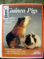 Guinea Pigs Complete Pet Owner's Manual (1991, Library Bound)