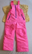Champion Girl's Snow Pants Size Small 6 6X Pink Ski Bibs Venture Dry