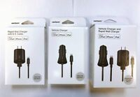 Verizon OEM Home / Car Charger Lightning USB Cable For iPhone X 8 7 6s Plus 5 5s