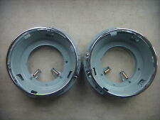 VW Headlight Housing Bucket pair, Beetle, Ghia, Bus, Type 3, The Thing. 1961-79