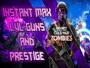 CALL OF DUTY COLD WAR BLACK OPS Boosting Service DARK AETHER MAX LEVELS Warzone