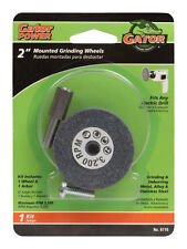 "ALI MOUNTED GRINDING WHEEL  for METAL STEEL1/4"" arbor Fits  drill 2  inch"