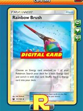 Rainbow Brush (FOIL) - for Pokemon TCG Online ( DIGITAL ptcgo in Game )
