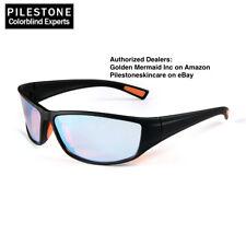 Pilestone Color Blind Glasses TP-017 Adult Size Streamline Titanium Coated UV-