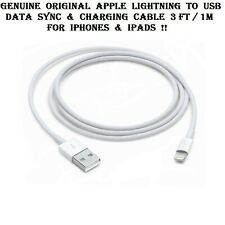 Genuine Original Apple iPhone iPad Lightning To USB Charging Cable OEM 1M / 3FT