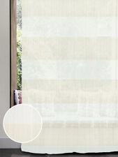 Rideau Illusion blanc neutre et beige (col.1)
