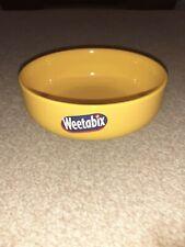 Weetabix round cereal bowl retro