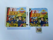 Fireman Sam: To The Rescue - Nintendo 3DS Game - 2DS, XL - Free, Fast P&P!