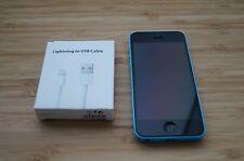 7/10 MINOR ISSUE Apple  iPhone 5c - 32GB - Blue Smartphone AUSSIE STOCK