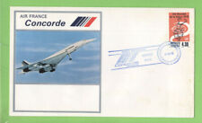Mexico 1978 Air France Concorde Flight cover, Mexico to Paris, via Washington
