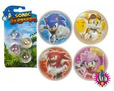 OFFICIAL SONIC THE HEDGEHOG BOOM POWER BOUNCY BALLS 4 PACK