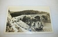 Real Photo Postcard Deception Pass Bridge Washington State