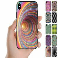 For Samsung Galaxy Series Optical Illusion Print Back Case Mobile Phone Cover #2