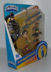 "Imaginext DC Super Friends Series Wonder Woman & Cheetah 2"" Figure Variant Set"