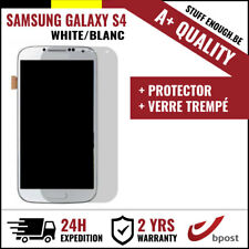 A+ LCD SCREEN/SCHERM/ÉCRAN WHITE + SCREEN GUARD FOR SAMSUNG GALAXY S4 I9500