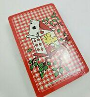 Hallmark Woodstock Playing Cards Peanuts Bridge Poker Factory Sealed Unopened