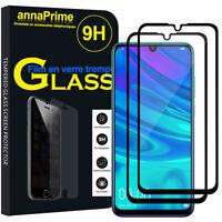 2 Vitre Film Verre Trempe Protecteur d'écran Huawei P Smart+ (2019)/ Plus (2019)