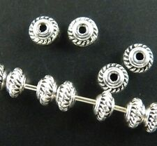 400pcs Tibet Silver Little Spacer Beads Findings 5x3mm ZN664
