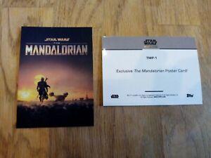 Topps Star Wars On Demand Mandalorian Poster Card TMP-1
