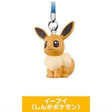 Pokemon Eevee Movie Netsuke Phone Strap Anime Manga NEW