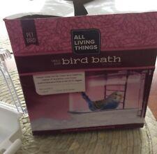 All Living Things Hooded Bird Bath Small