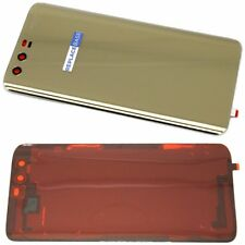 For Huawei Honor 9 Replacement Glass Battery Cover With Adhesive Gold OEM