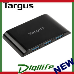 Targus 4 Port USB 3.0 SuperSpeed Powered Hub for Windows PC & Apple MAC