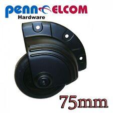 Penn Elcom 75mm Diecast Out-Rigger Corner Castor Flightcase Fittings