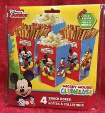 Disney Mickey Mouse Clubhouse Snack Boxes