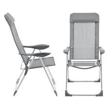 2x Gartenstuhl Hochlehner Klappstuhl Anglerstuhl Campingstuhl Outdoor-Stuhl Set
